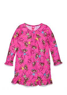 J. Khaki Monkey Night Gown Girls 4-16