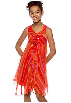 Bloome Tiedye Asymmetric Hem Dress Girls 7-16