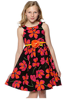 Bloome Floral Dress with Bell Girls 7-16