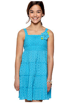 Bloome Tiered Sundress Girls 7-16 - Online Only