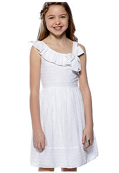 Bloome One Shoulder Sundress Girls 7-16