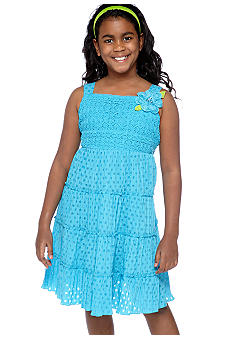 Bloome Tiered Sundress Girls Plus