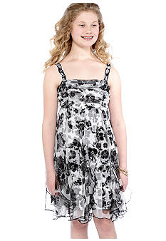 Bloome Floral Dress Girls Plus