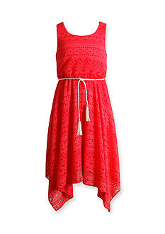 Bloome Belted Lace Dress Girls 7-16