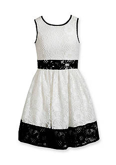 Bloome Contrast Lace Dress Girls 7-16