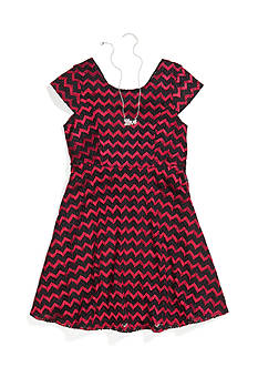 Bloome Chevron Crochet Dress Girls Plus