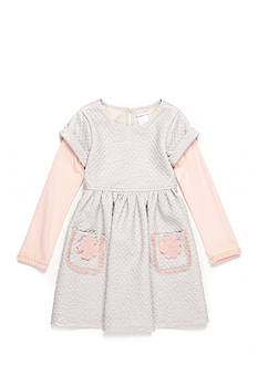 Sweet Heart Rose Quilted Babydoll Dress