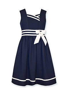 Bonnie Jean Traditional Nautical Dress Girls 7-16