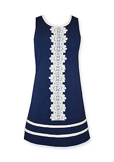 Bonnie Jean Nautical Lace Dress Girls 7-16