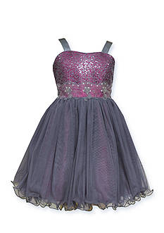 Bonnie Jean Tulle Social Dress Girls 7-16