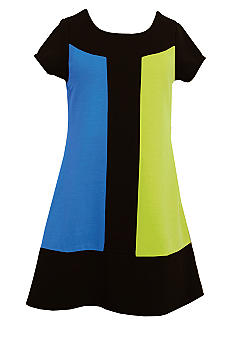 Bonnie Jean Color Block Dress Girls Plus