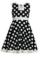 Bonnie Jean® Dot Knit Dress Girls Plus
