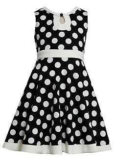 Bonnie Jean Dot Knit Dress Girls Plus