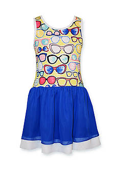 Bonnie Jean Sunglasses Sequin Dress Girls 4-6x