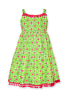 Bonnie Jean Geo Print Dress Girls 4-6x