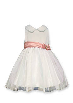 Bonnie Jean Shantung to Tulle Ballerina Dress Girls 4-6x