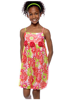 Bonnie Jean Daisy Dress Girls 7-16