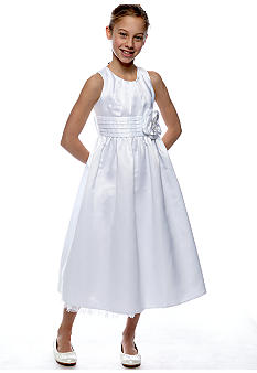 Bonnie Jean Elegant Pleated Dress Girls 7-16