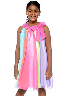 Bonnie Jean Pieced Chiffon Float Dress Girls Plus