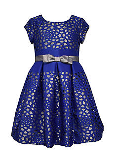Bonnie Jean Laser Scuba Royal Dress Girls 7-16