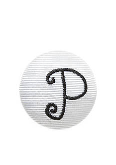 Riviera Monogram Solid Hair Button