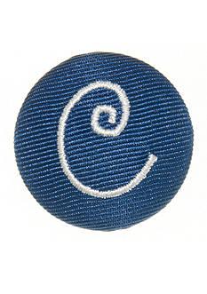 Riviera Round Shaped Monogram 'C' Pinnable
