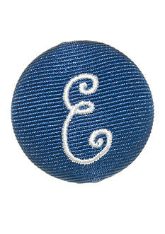 Riviera Round Shaped Monogram 'E' Pinnable