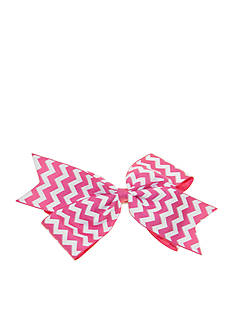 Riviera Large Chevron Fashion Bow