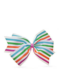 Riviera Striped Grosgrain Bow
