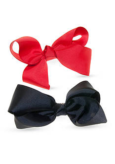 Riviera 2-Pack Red and Black Bows