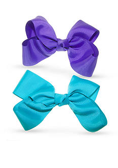Riviera 2-Pack Turquoise and Purple Bows