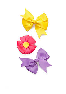 Riviera Mixed Media Flower Bow Set