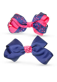 Riviera 2-Pack Pink and Blue Decorated Bow