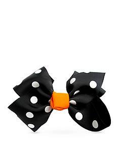 Riviera Halloween Dot Hair Bow
