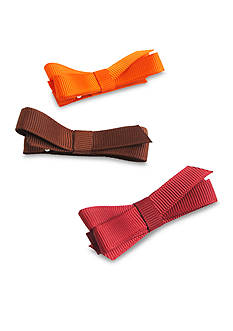 Riviera Set of 3 Clip On Small Loop Bow