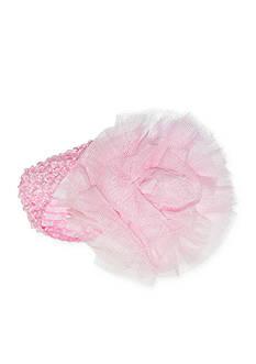 Riviera Crochet Pouf Headwrap