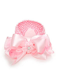 Riviera Crochet Headwrap with Double Layer Bow