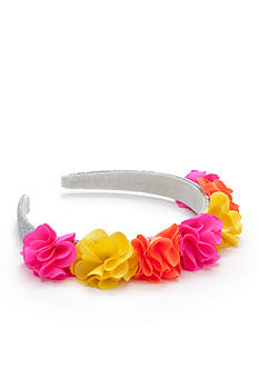 Riviera Flower Crown Glitter Headband