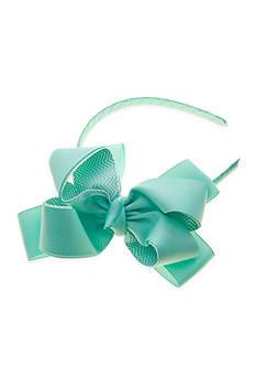 Riviera Peek-A-Boo Chevron Bow Handband