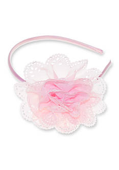 Riviera Scalloped Flower Headband