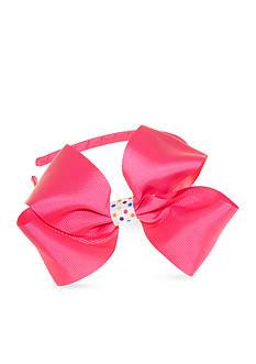 Riviera Polka Dot Keeper Bow headband
