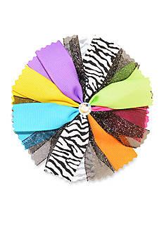 Riviera Multi Color Pinwheel Hair Bow