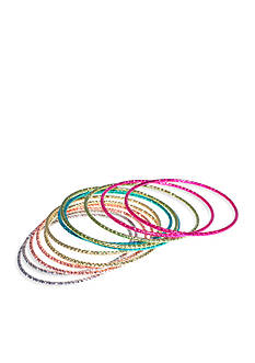 Riviera 6-Pack Metal Bangle Set