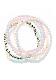 Riviera 6-Piece Beaded Bracelet Set