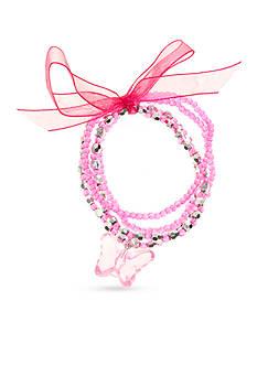 Riviera 4-Piece Butterfly Charm Bracelet Set