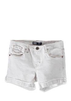 Levi's Mission Thick Stitch Shorty Shorts Girls 4-6x