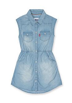 Levi's Open Road Woven Dress Girls 4-6x