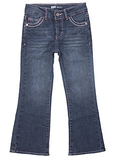 Levi's Boot Cut Denim Blue Jeans For Girls 4-6x