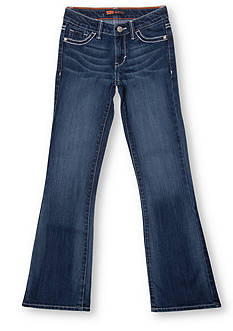 Levi's Boot Cut Denim Blue Jeans in Slim Sizes For Girls 7-16