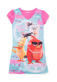 Angry Birds 'Don't Worry Be Angry' Character Night Gown Girls 4-12